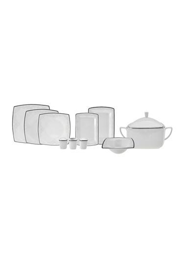 Karaca karaca-neklus62 Karaca Fine Pearl Neklus 62 Parça 12 Kişilik İnci Yemek Takımı Renkli